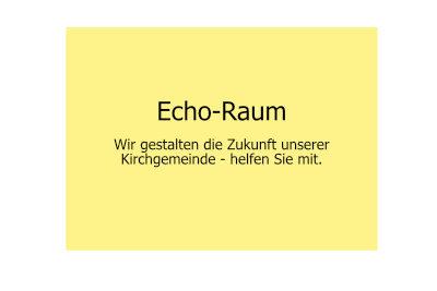 Echo-Raum