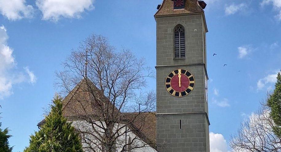 Kirche Frühlingstag ms