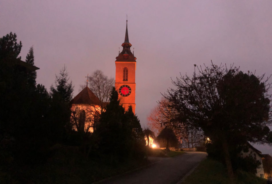 Orange Kirche  25.11. - 10.12.2020